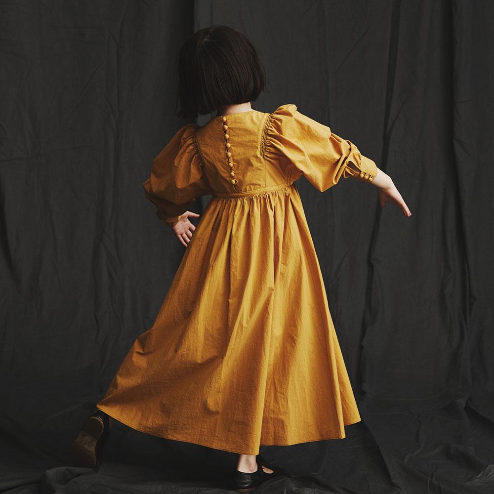 5b889f484a018 30%OFF セール】GRIS(グリ)2018aw Gathered Dress mustard たっぷり ...